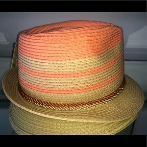 Brand new fedora two tone color